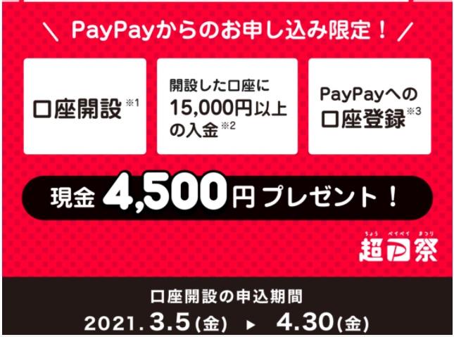 PayPayキャンペーンのサイトを紹介